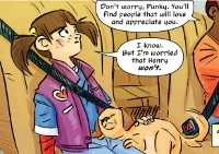 Punky Brewster 102 Sample Panel