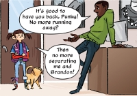 Punky Brewster 104 Sample Panel