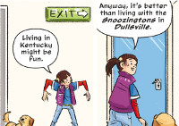 Punky Brewster 107 Sample Panel