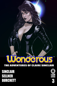 Wonderous Volume 1 Issue 3 Cover