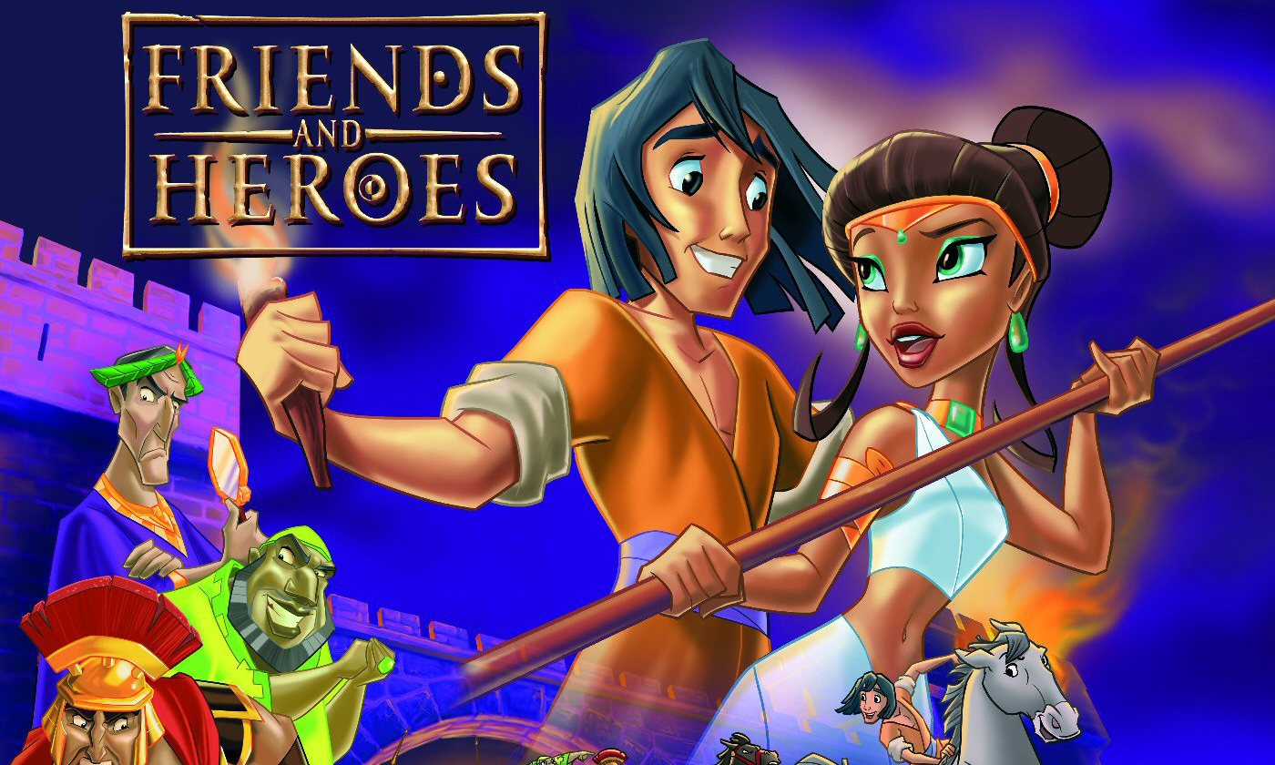 [Friends and Heroes Logo]